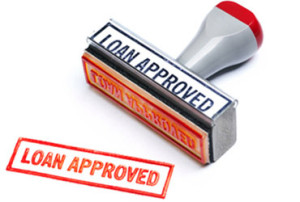 hard money loan approval stamp
