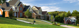 houses in neighborhood