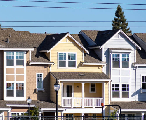 Three story Multi-Family homes