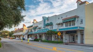 Vero Beach Historic Downtown Theatre Street